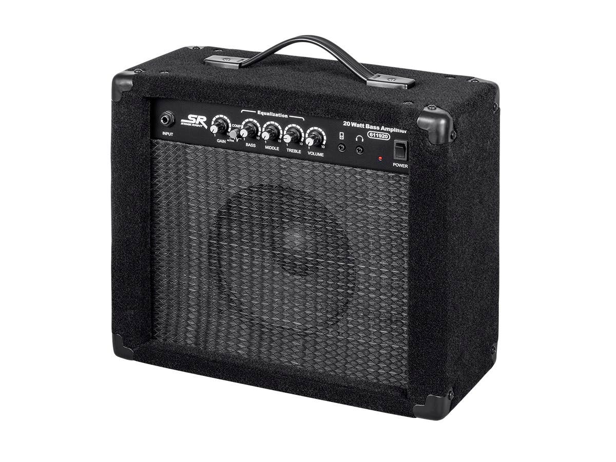 Monoprice 20-Watt, 1x8 Bass Combo Amplifier-Large-Image-1