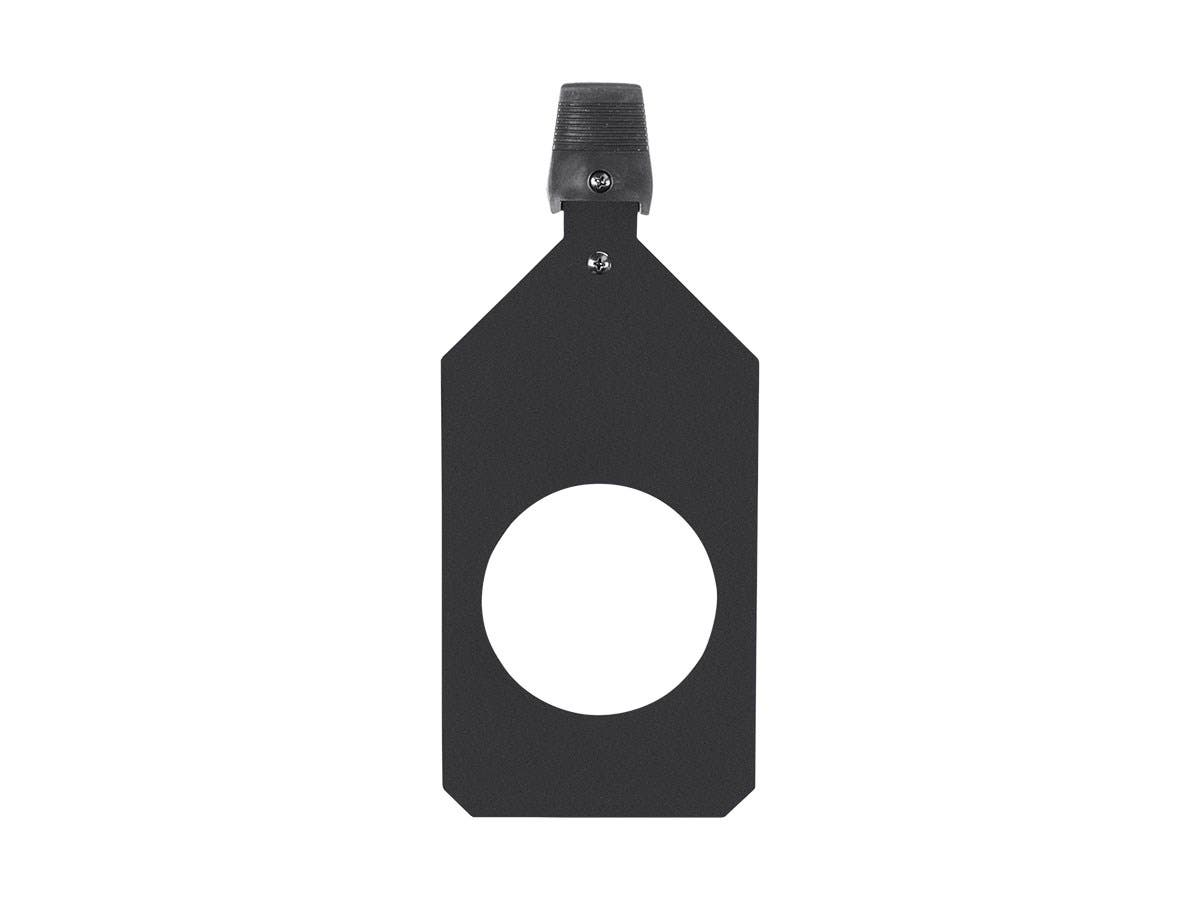 Stage Right by Monoprice Ellipsoidal Aluminum Replacement Gobo Holder B Size Metal or Glass-Large-Image-1