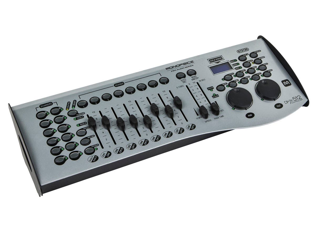 Stage Right by Monoprice 16-Channel DMX-512 Controller-Large-Image-1