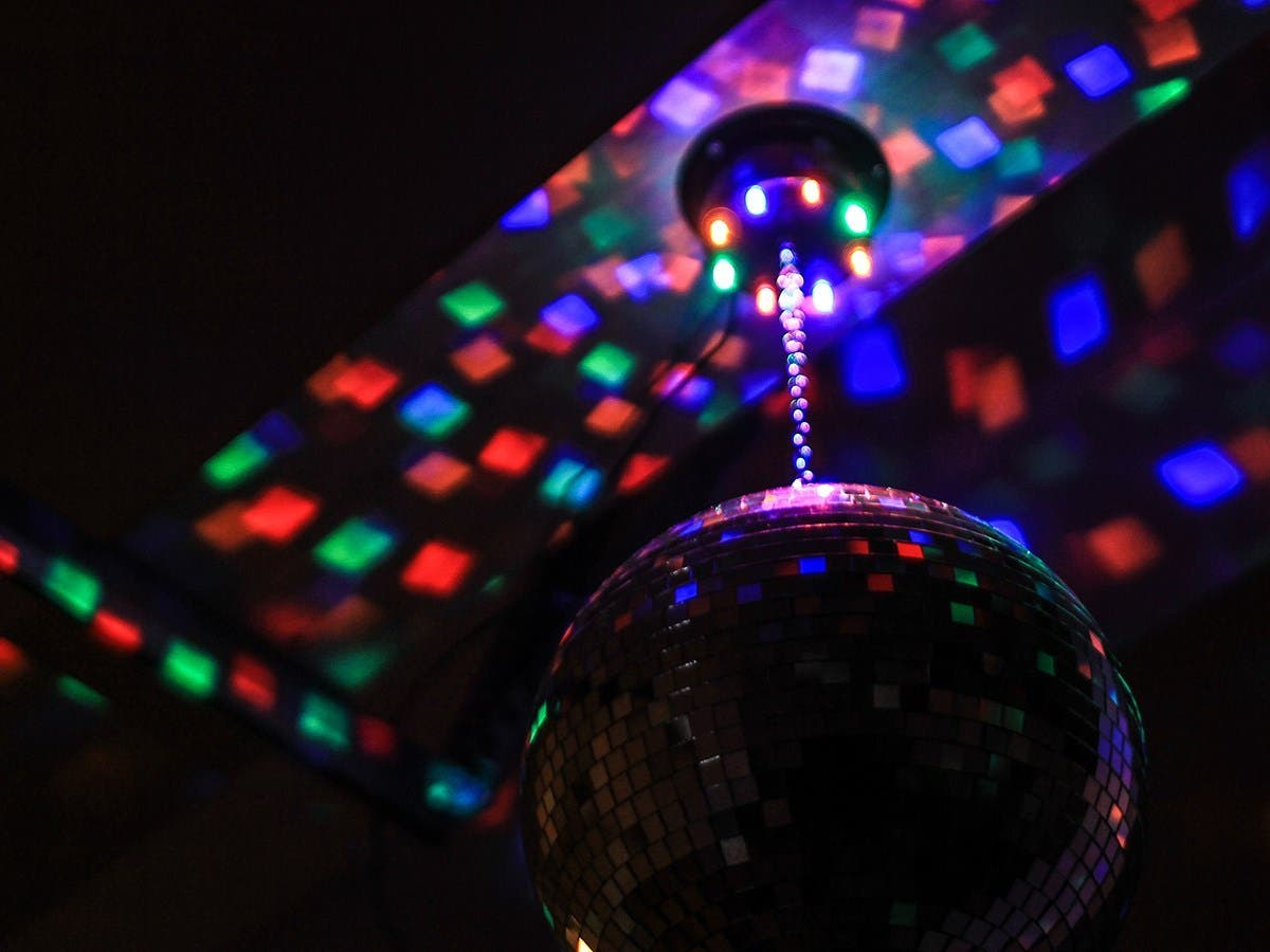 Stage Right By Mono 10 Inch Mirror Ball Motor With Led Lights Small