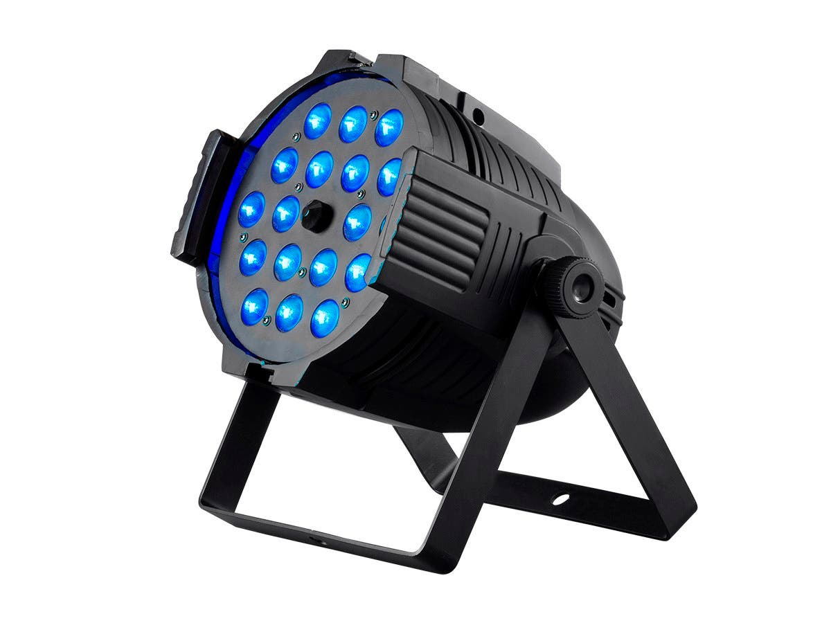 Stage Right by Monoprice Stage Wash 18x18W LED PAR Stage Light with Zoom (RGBWA-UV)-Large-Image-1