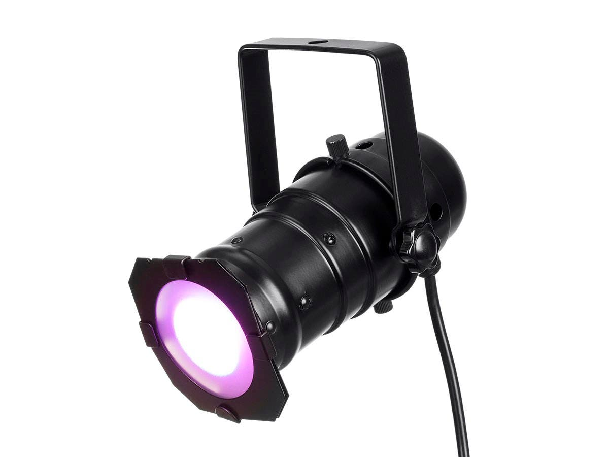 Stage Right by Monoprice Mini PAR 15 Watt LED Light with IR (RGBW)-Large-Image-1