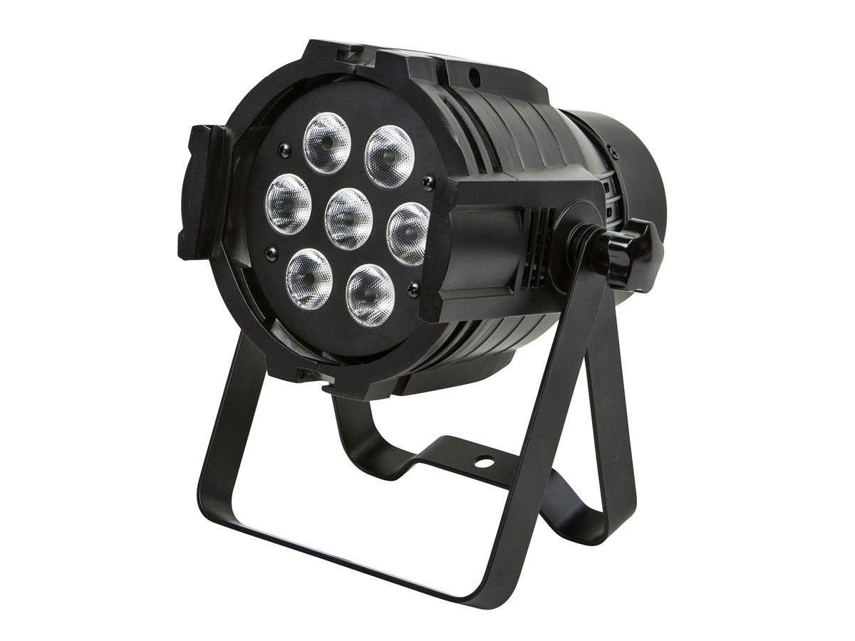 Stage Right by Monoprice Bright, 8-watt x 7 LED PAR-575 Stage Light (RGBW)-Large-Image-1