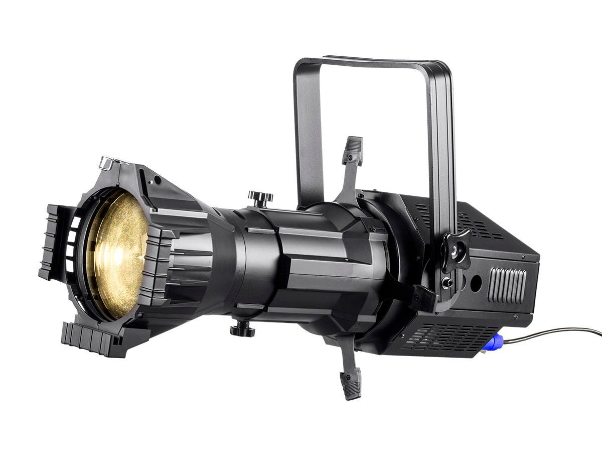 Stage Right 200W COB LED Ellipsoidal with Gobo Holder (White 3200K, 19°)-Large-Image-1