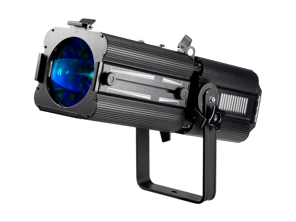 Stage Right 180W COB LED Ellipsoidal with Manual Zoom  (RGBW, 17°-50° beam angle)-Large-Image-1