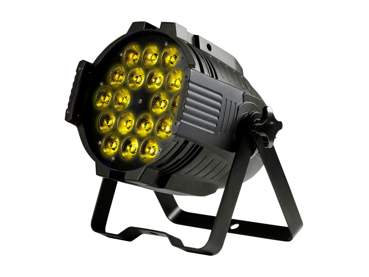Stage Right by Monoprice Stage Wash 18 Watt x 18 LED PAR Stage Light (RGBWA-UV)-Large-Image-1