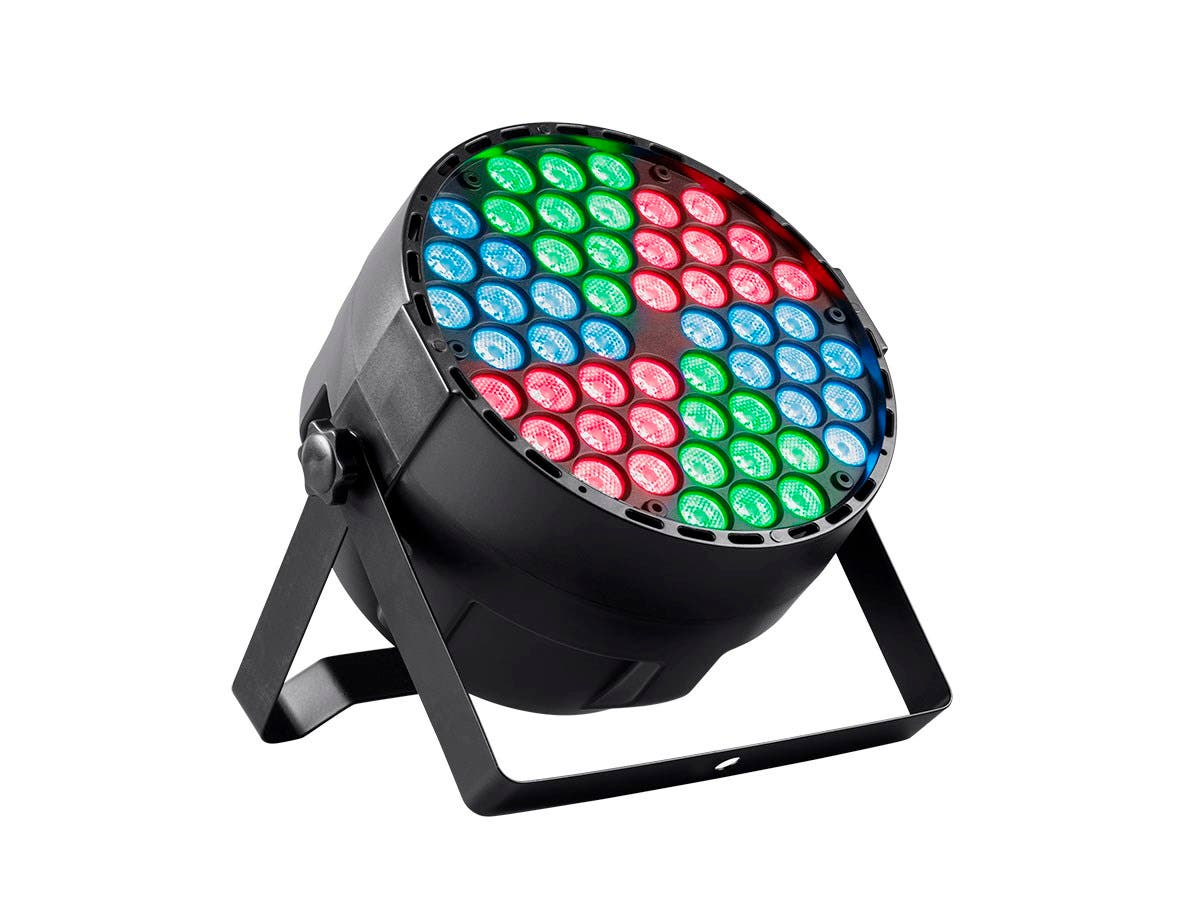 Stage Right by Monoprice Party Wash FX 1 Watt x 54 LED (RGB) with Pie Control-Large-Image-1