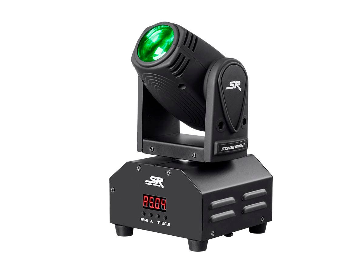 Stage Right by Monoprice Party 10W Mini Beam Moving Head LED Light-Large-Image-1