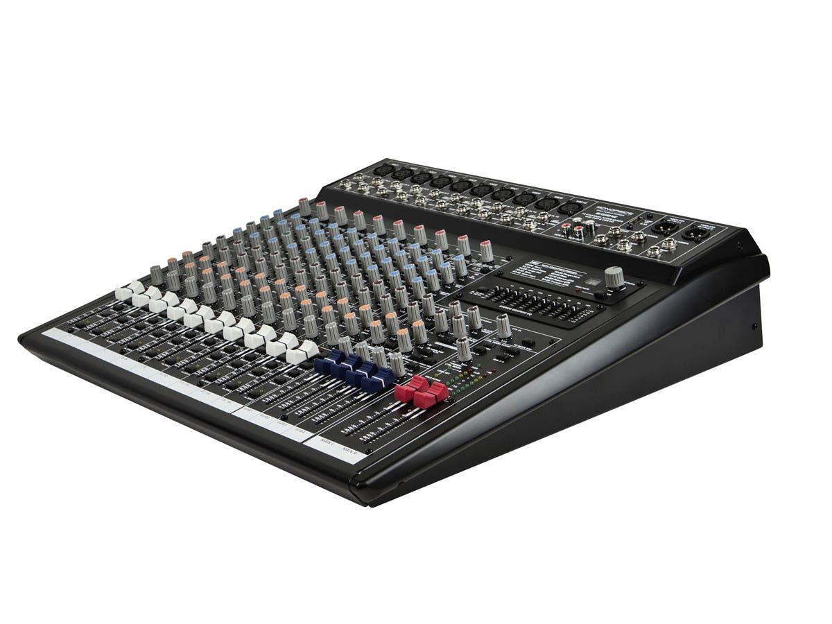 Monoprice 16-channel Audio Mixer with DSP & USB - Monoprice com