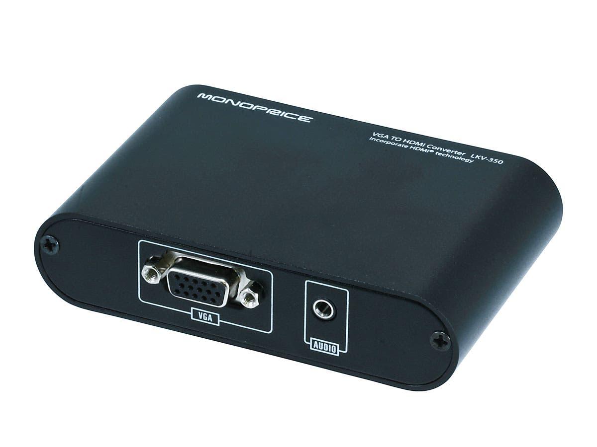 Monoprice VGA to HDMI Converter-Large-Image-1