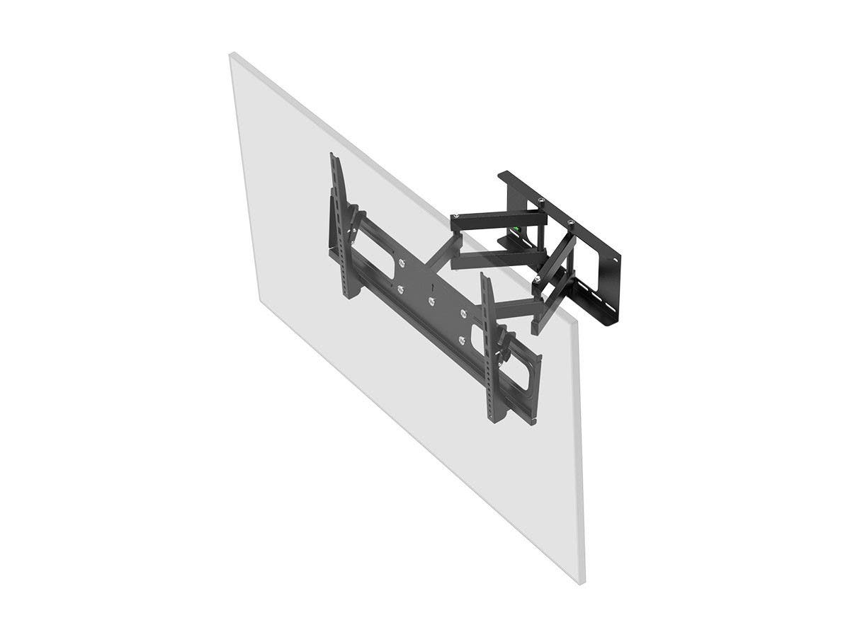 Monoprice Stable Series Full-Motion Articulating TV Wall Mount Bracket For TVs 37in to 70in, Max Weight 132lbs, Extension Range of 3.7in to 18.7in, VESA Up to 800x400, Works with Concrete & Brick-Large-Image-1