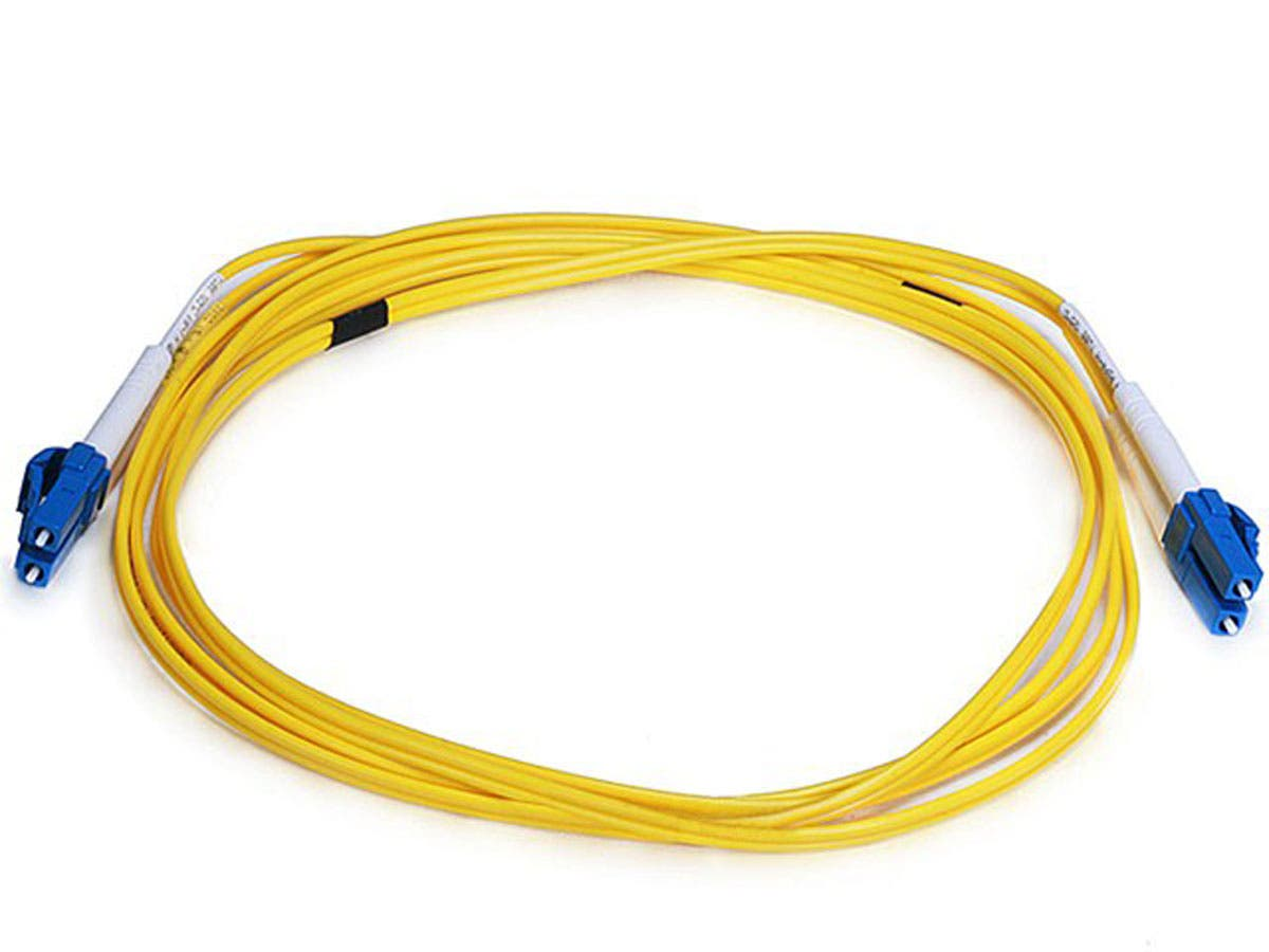 Fiber Optic Cable, LC/LC, Single Mode, Duplex - 2 meter (9/125 Type) - Yellow