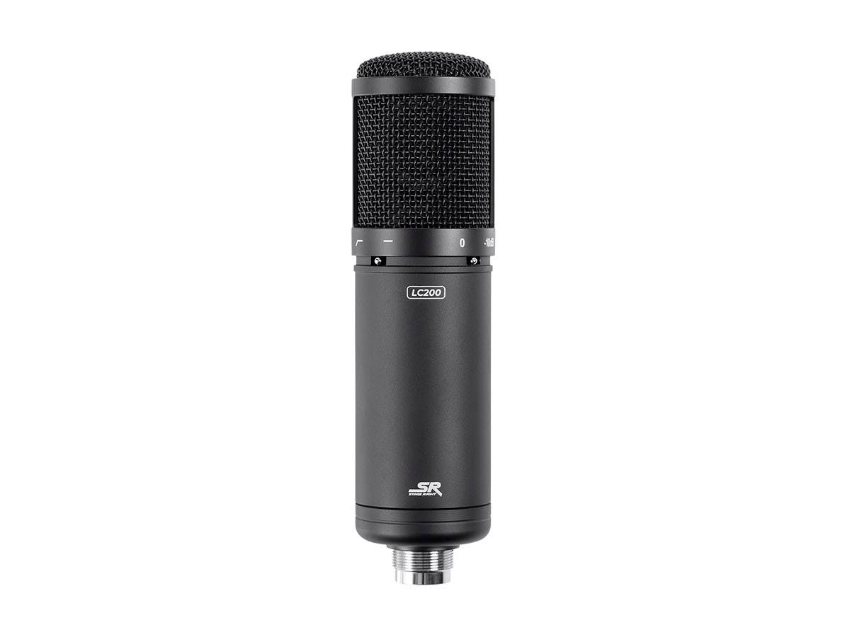 Stage Right by Monoprice LC200 Large Multi-Pattern Studio Condenser Microphone - main image