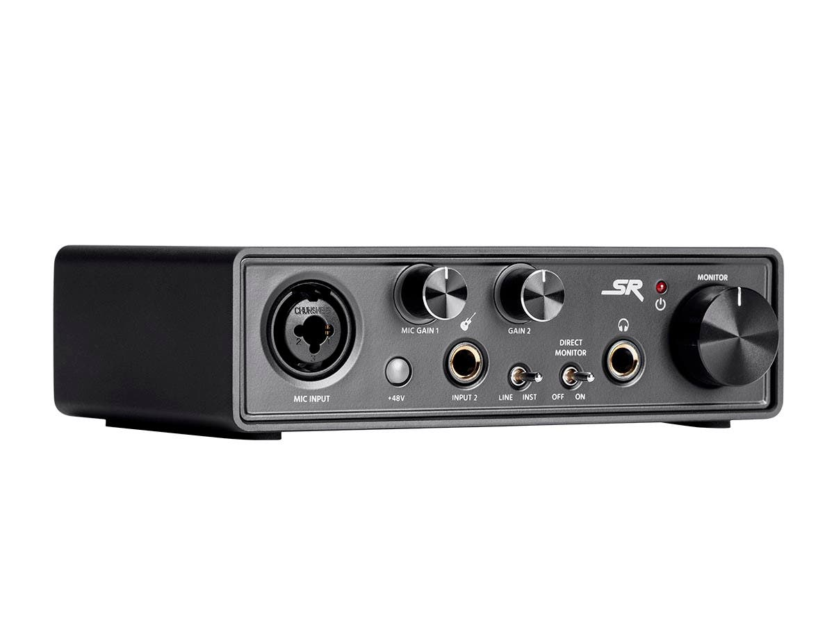 Stage Right by Monoprice STi12 2x2 USB Recording 96KhZ Audio Interface w/ Direct Monitoring, USB Bus Power, Combo XLR-1/4in Jack, and Instrument DI - main image