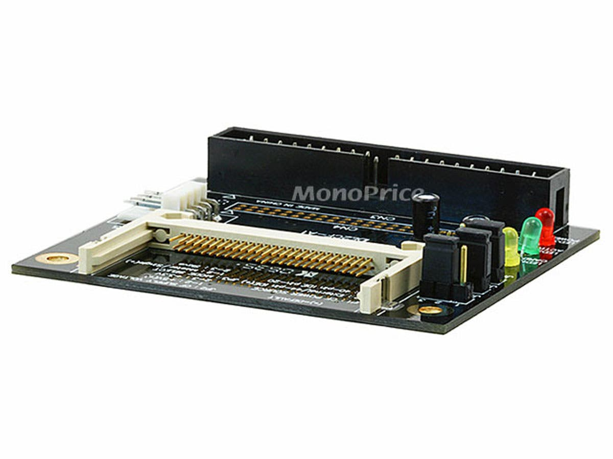Monoprice Ultra IDE(40-pin) to Compact Flash Adapter-Large-Image-1