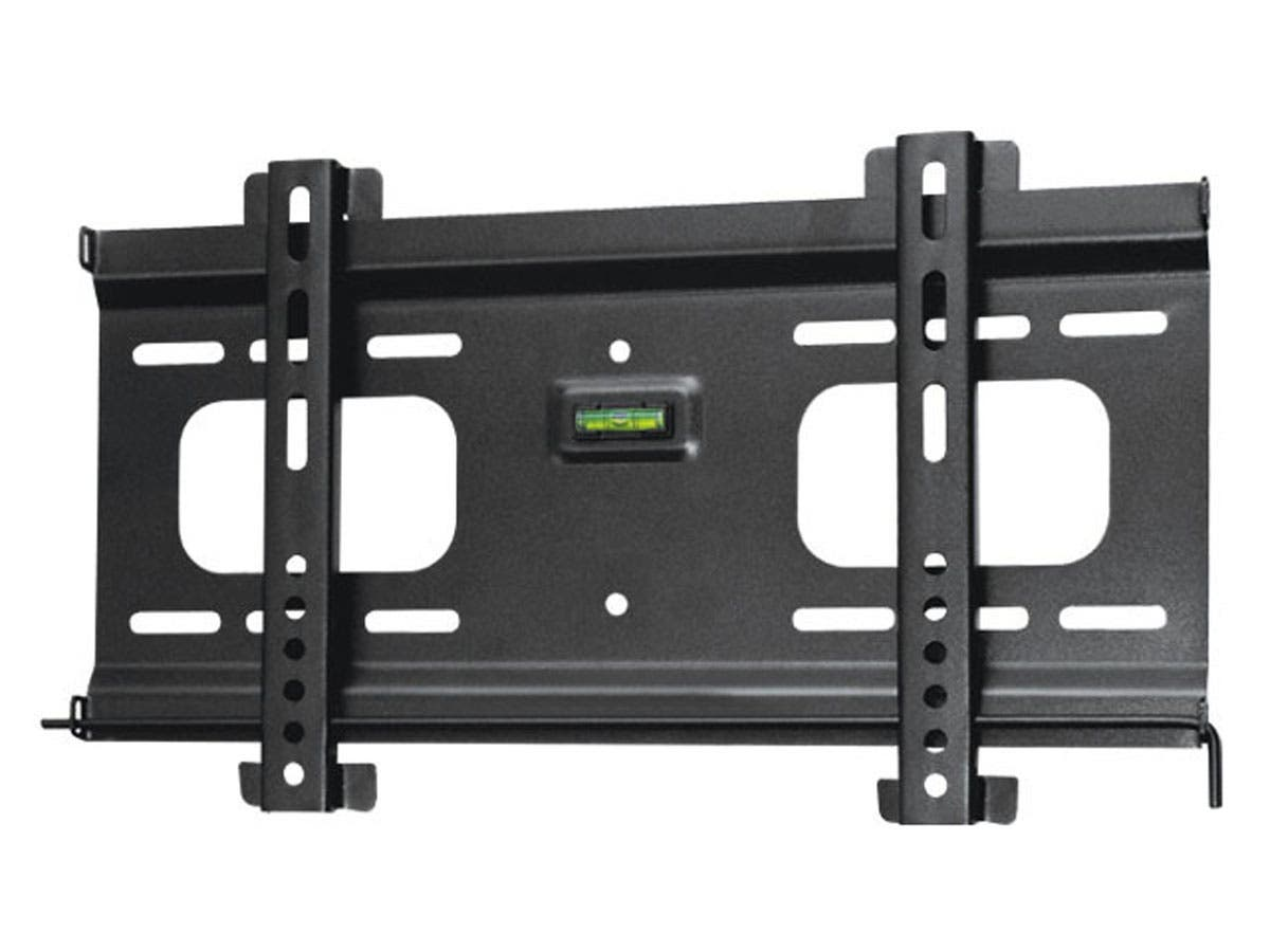 monoprice ultra slim fixed tv wall mount bracket for tvs 32in to 55in max weight 165 lbs vesa. Black Bedroom Furniture Sets. Home Design Ideas