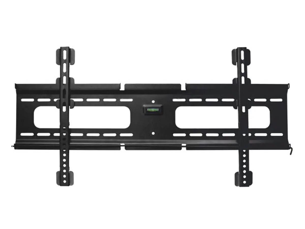 Monoprice Ultra-Slim Fixed TV Wall Mount Bracket For TVs 37in to 70in, Max Weight 165 lbs, VESA Patterns Up to 800x400, Security Brackets, Works with Concrete & Brick-Large-Image-1