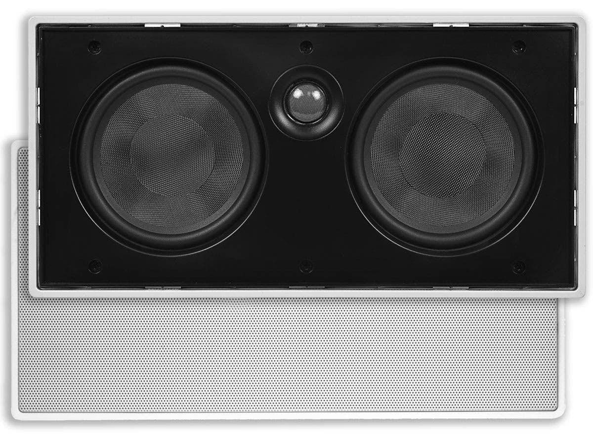 Aria In-Wall Speaker Center Channel Dual 5.25in 2-Way (single)
