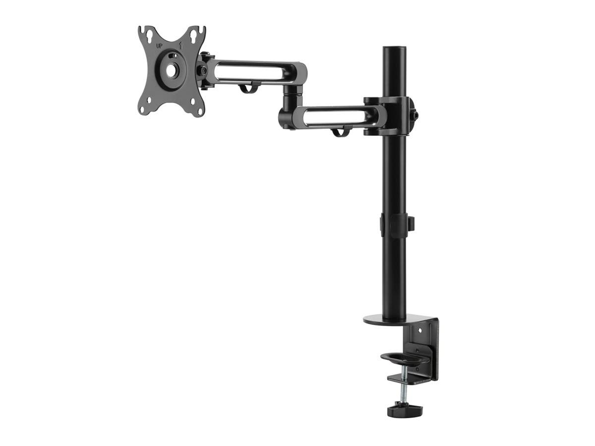Monoprice Adjustable Tilting Desk Mount Bracket For 10~23 Inch LCD Monitors  Up To 33