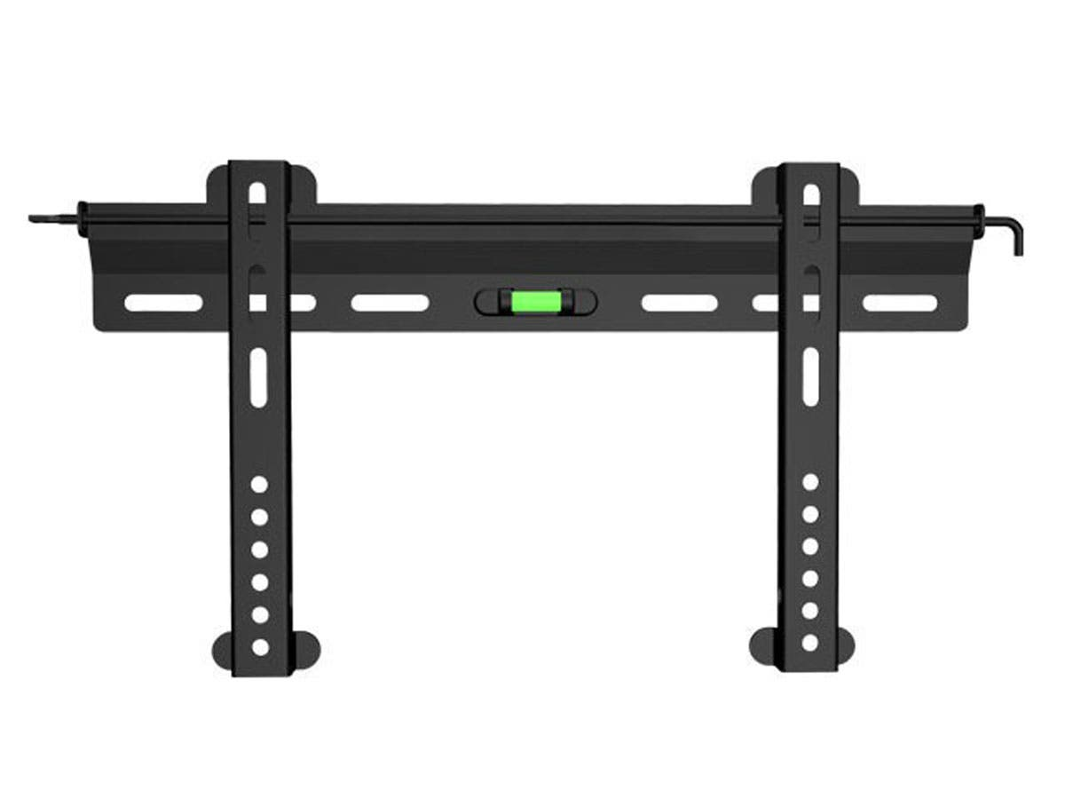 Monoprice SlimSelect Series Fixed TV Wall Mount Bracket For TVs 32in to 55in, Max Weight 99lbs, VESA Patterns Up to 400x200, Security Brackets-Large-Image-1