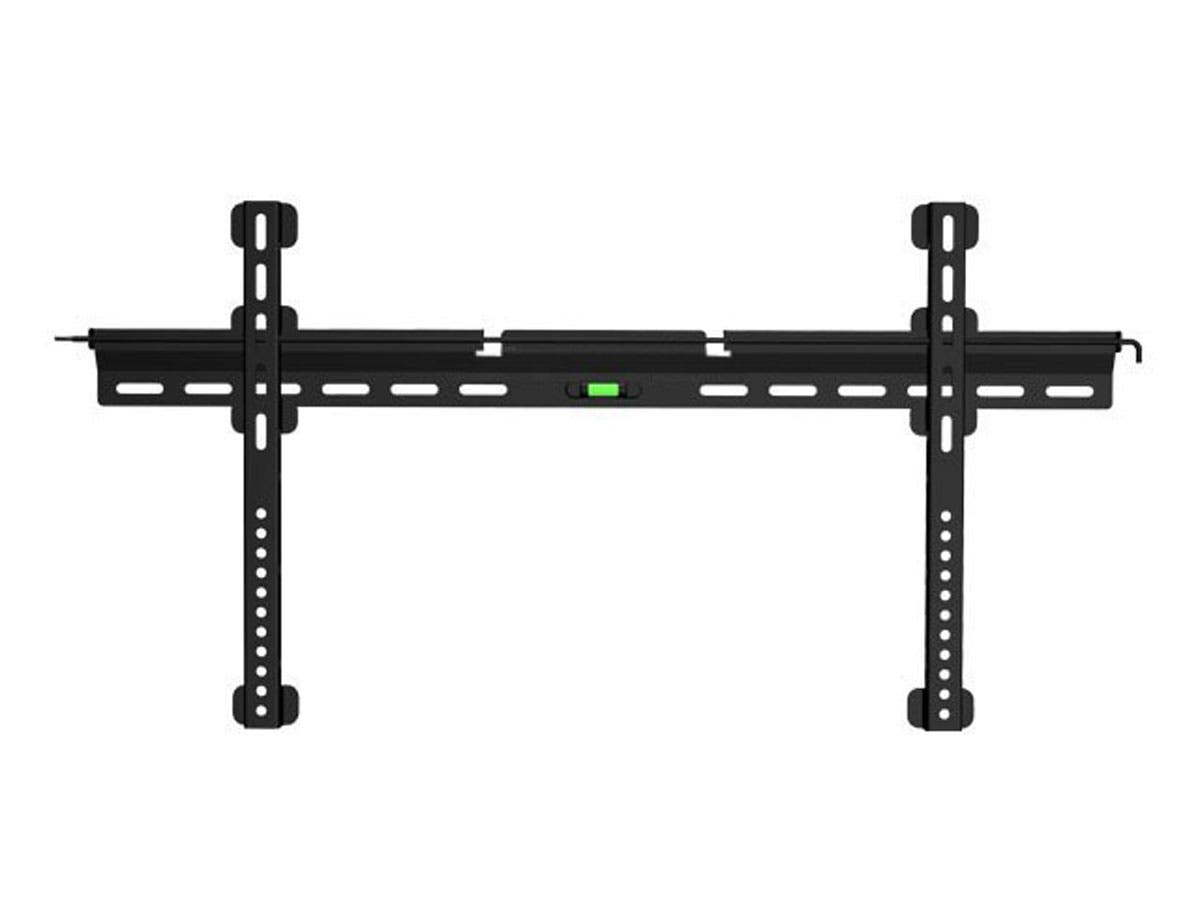 Monoprice Ultra-Slim Fixed TV Wall Mount Bracket for TVs 32in to 55in, Max Weight 143 lbs, VESA Patterns Up to 800x400, Security Brackets-Large-Image-1