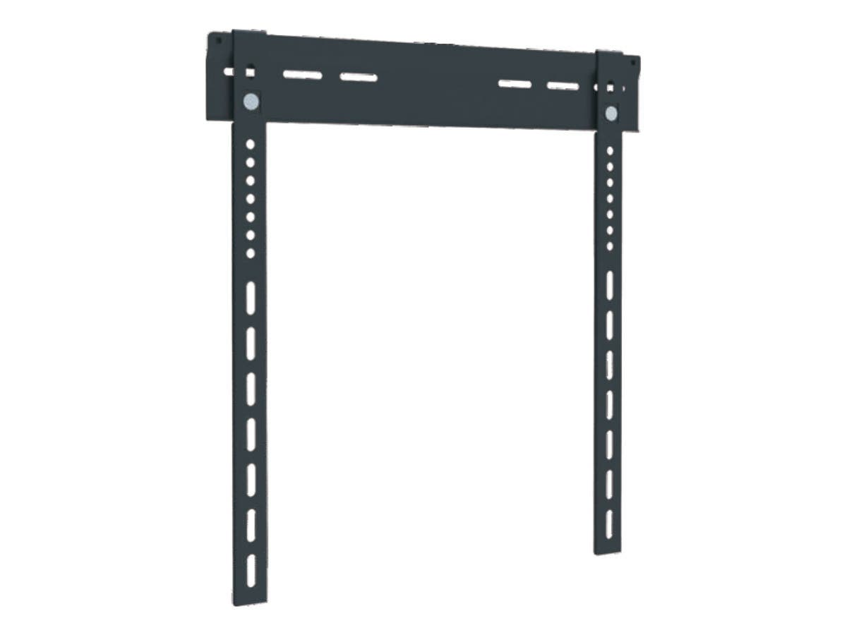 Ultra-Slim Fixed Wall Mount Bracket for 23~42in TVs up to 99 lbs, Black