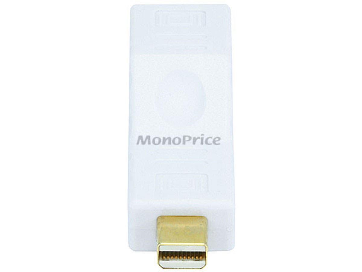 Monoprice Mini DisplayPort Port Saver (Male to Female) - Straight