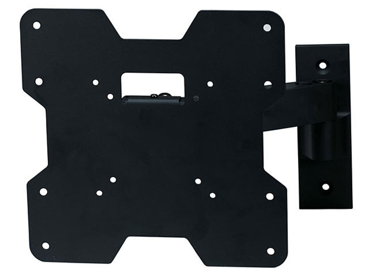 Monoprice Titan Series Tilt TV Wall Mount Bracket - For TVs 24in to 37in, Max Weight 80lbs, Extension Range of 3.2in to 9.7in, VESA Patterns Up to 200x200-Large-Image-1