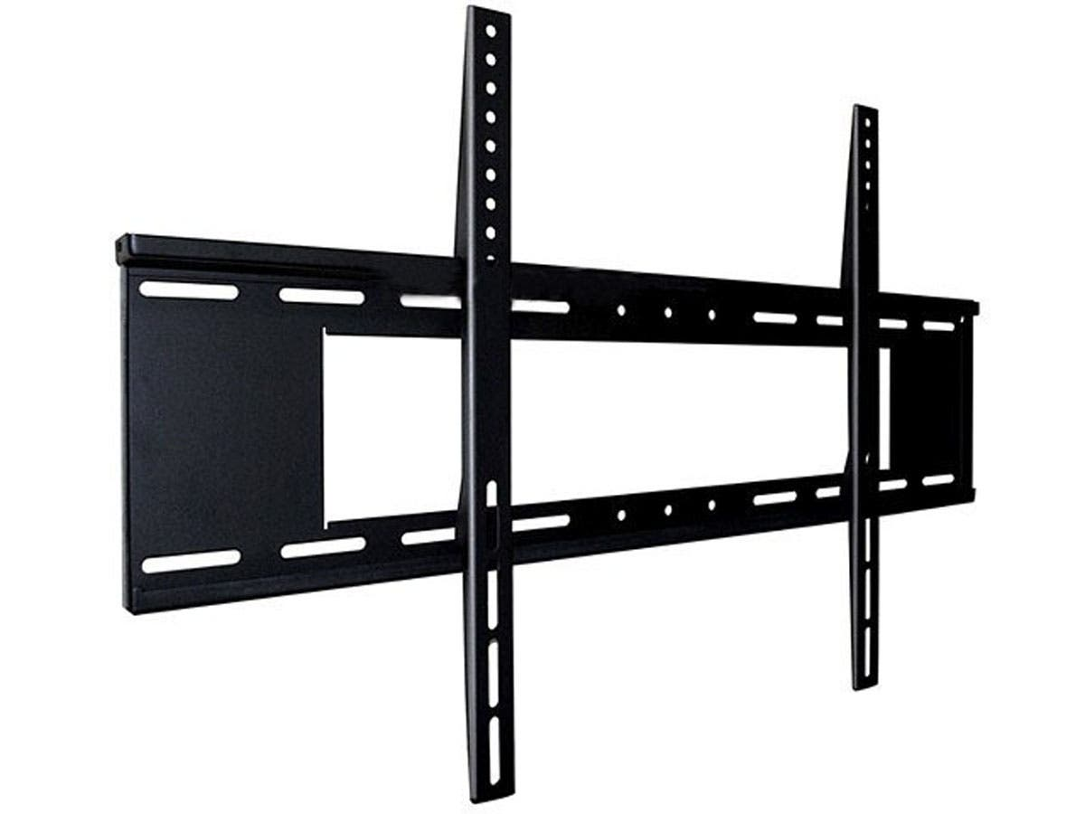 Monoprice Fixed TV Wall Mount Bracket - For TVs 37in to 63in, Max Weight 200lbs, VESA Patterns Up to 800x500, Security Brackets-Large-Image-1