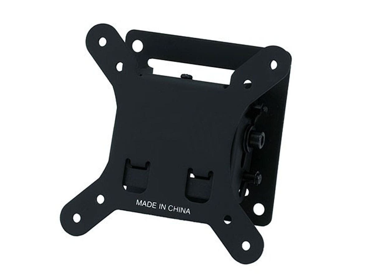 Monoprice Tilt TV Wall Mount Bracket - For TVs 10in to 26in, Max Weight 30lbs, VESA Patterns Up to 100x100, Concrete / Brick Only-Large-Image-1