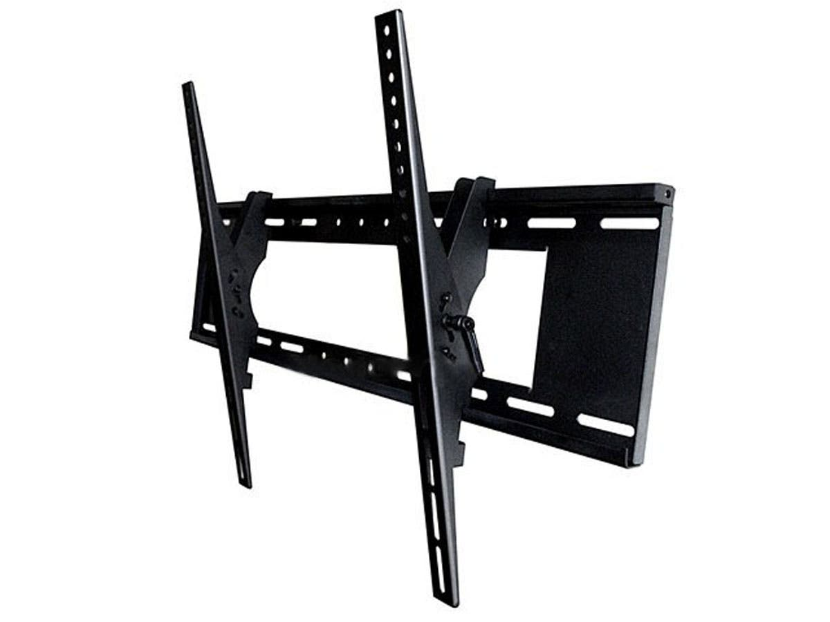 Monoprice Tilt TV Wall Mount Bracket - For TVs 37in to 63in, Max Weight 200lbs, VESA Patterns Up to 800x500, Security Brackets-Large-Image-1
