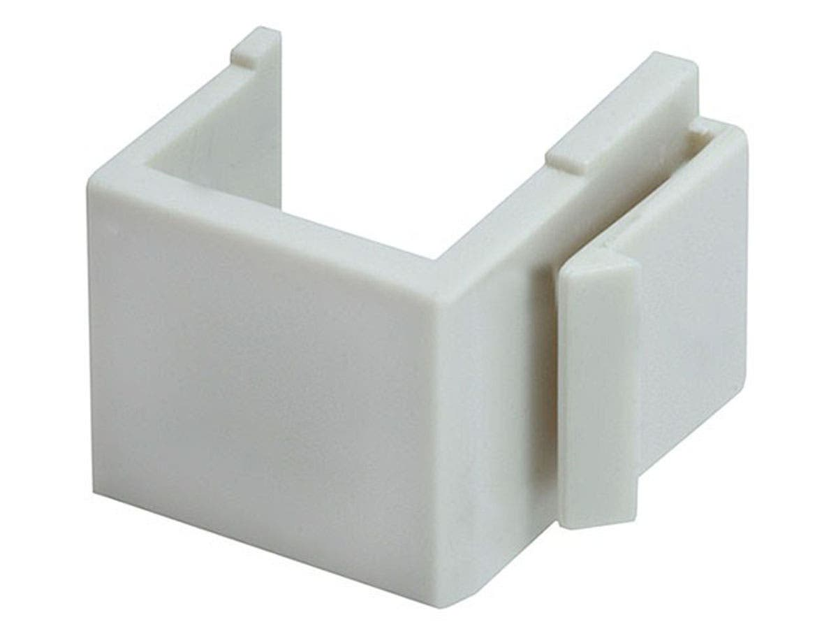 Blank Insert For Wall Plate, 10 pcs/pack, Ivory