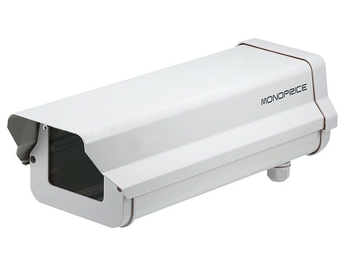 Monoprice 14.5in Outdoor Back Open Camera Housing with Heater and Blower-Large-Image-1