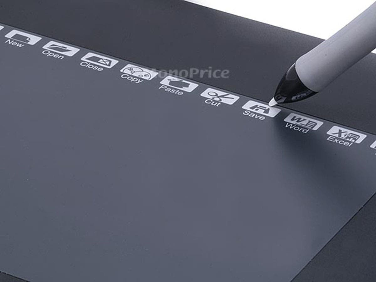 Monoprice 10x6 25in Graphic Drawing Tablet with 8 Hot Keys