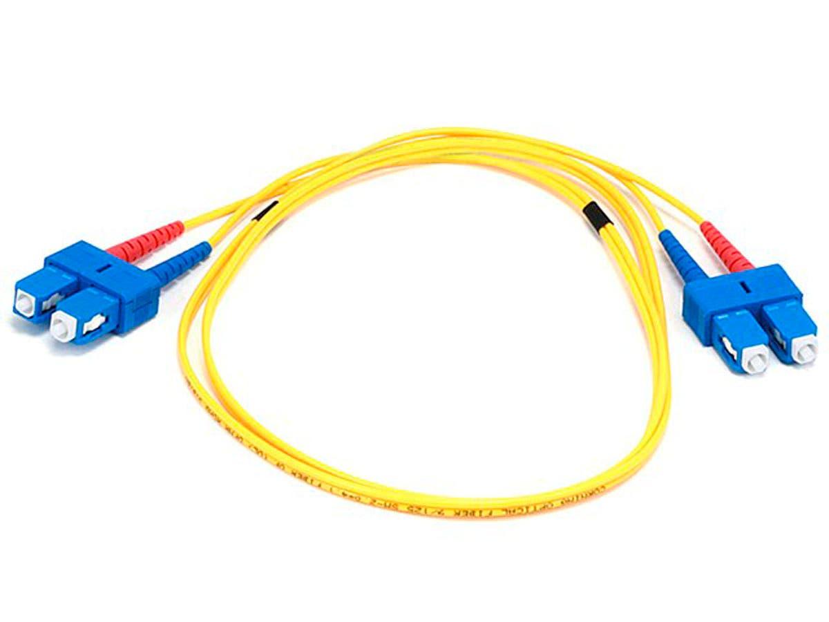 Monoprice Fiber Optic Cable Sc To Sc 9 125 Type Single