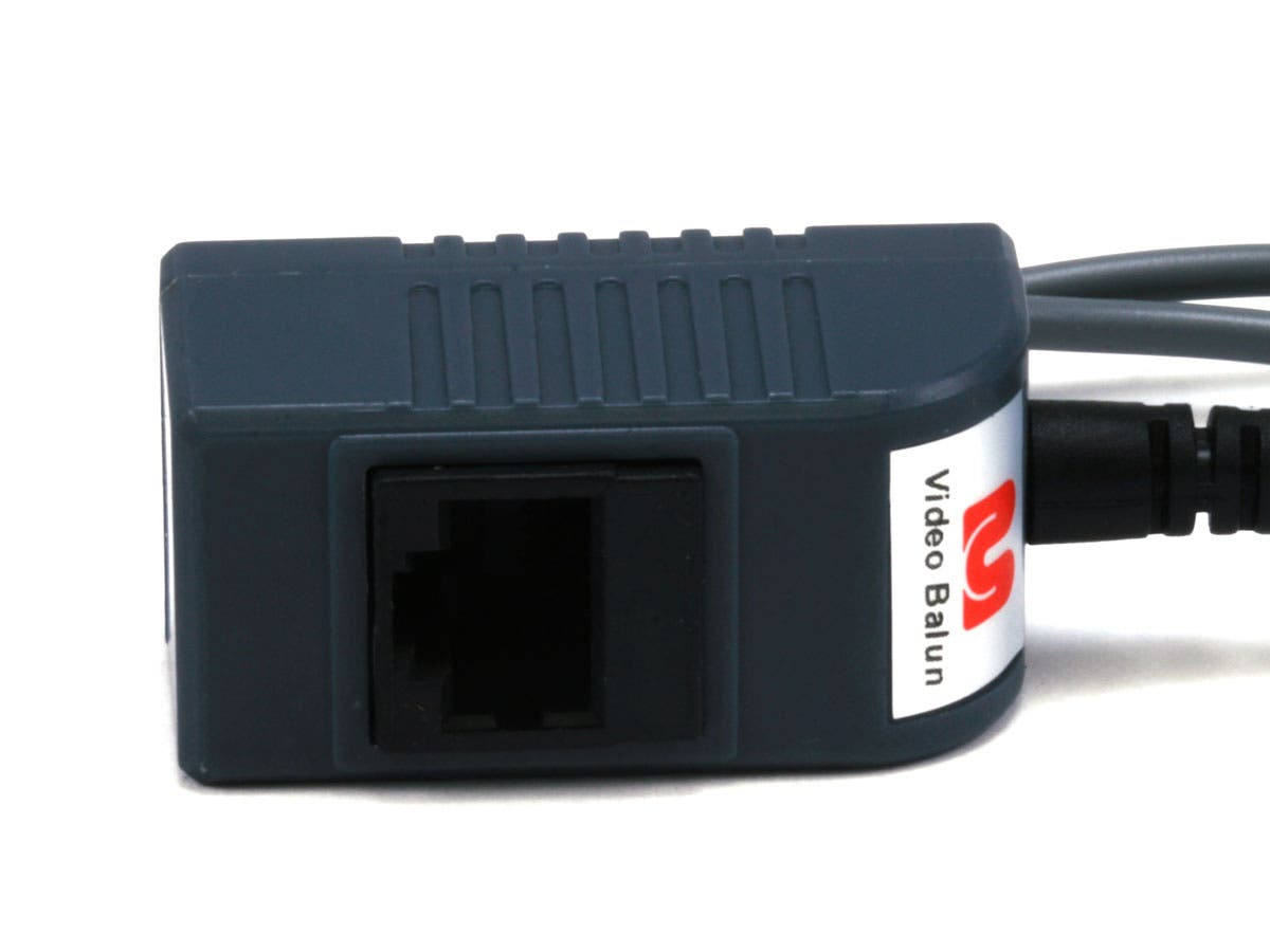 Monoprice 1 Channel Passive Cctv Balun Video Audio Power Over Cat5 Note The Dmx System Is Not To Be Confused With Small