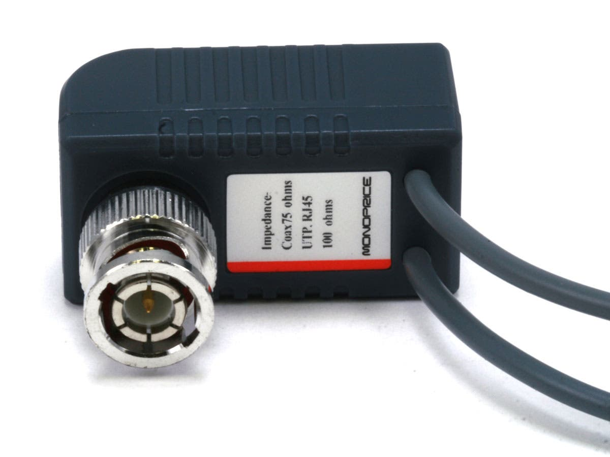 Monoprice 1 Channel Passive Cctv Balun Video Audio Power Over Cat5 The Dmx System Is Not To Be Confused With Small
