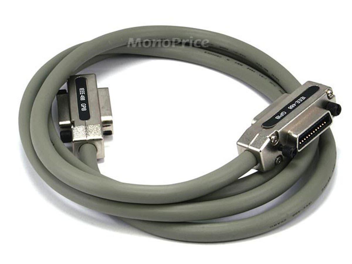 Monoprice IEEE-488,Metal Hood - 2m-Large-Image-1