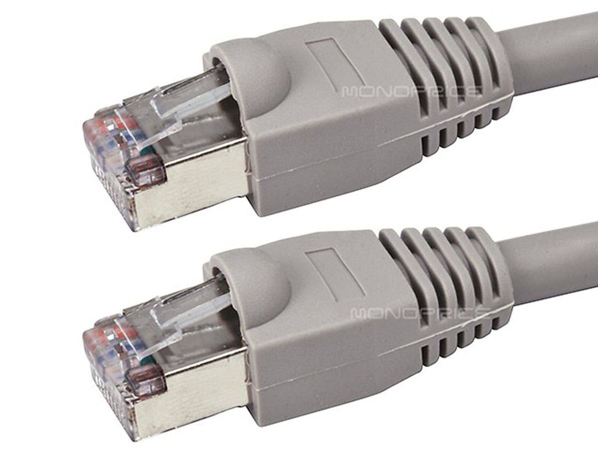 Snagless 75ft Cat5e Gray Ethernet Patch Cable Manual Guide