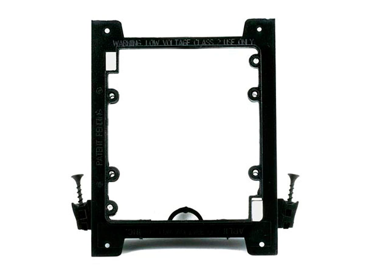 Monoprice 2-Gang Low Voltage Mounting Bracket - Screw Type-Large-Image-1