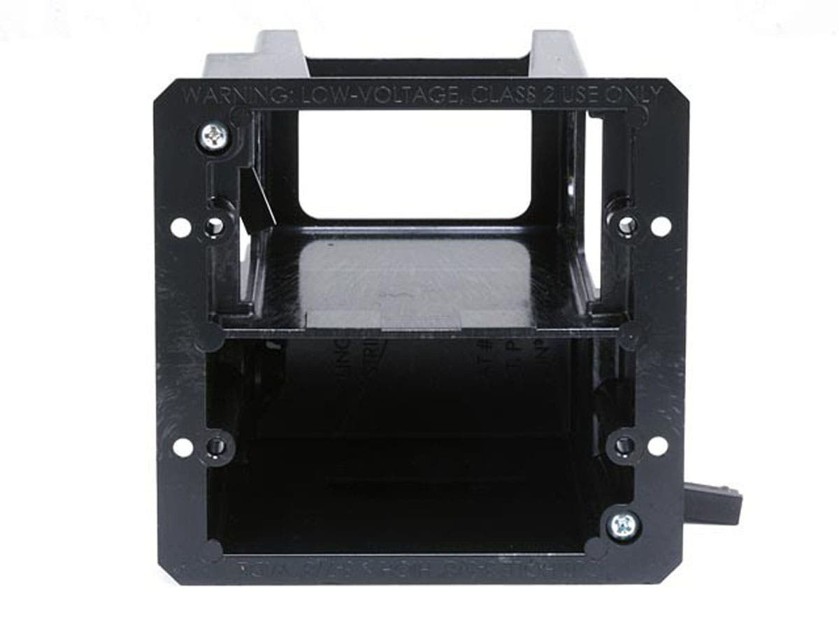 Power and Low Voltage Mounting Bracket - Combo Box