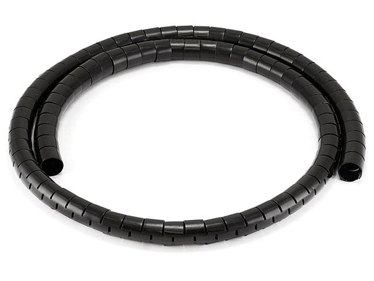 Spiral Wrapping Bands - 15mm x 1.5m (Black)