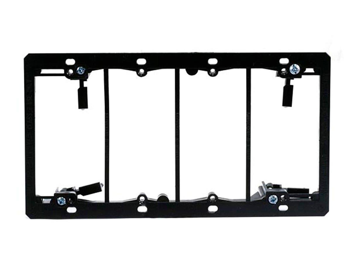 4-Gang Low Voltage Mounting Bracket