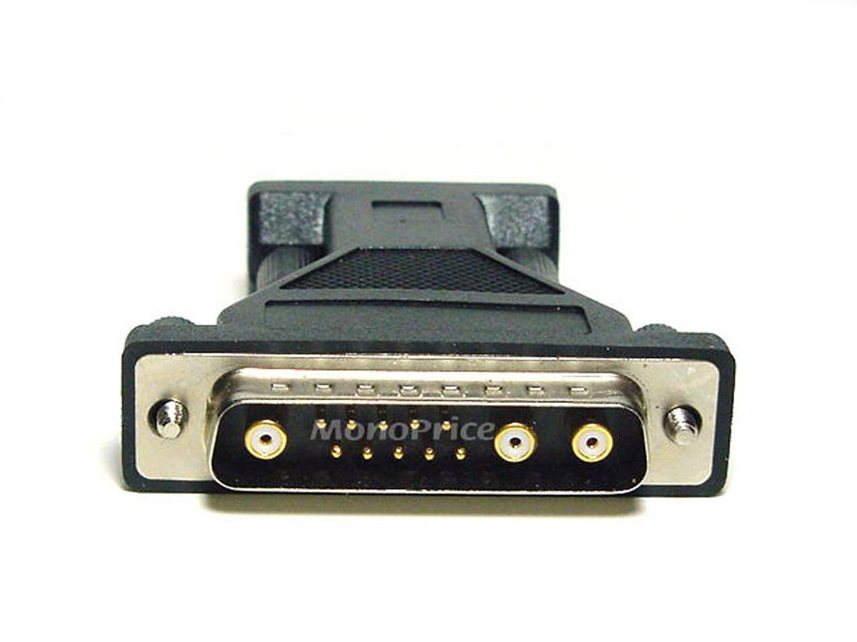 Monoprice Sun 13W3-M to HD15-F (VGA) Video Port Adapter-Large-Image-1