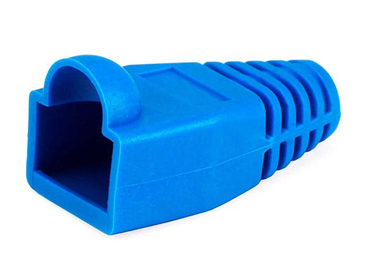RJ45 Strain Relief Boots, 50 pcs/pack, Blue