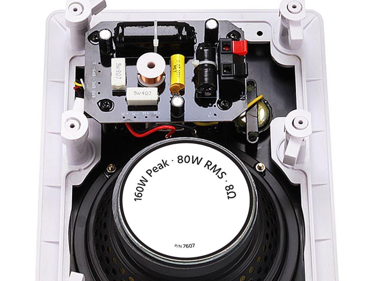 Monoprice Caliber In-Wall Speakers 6.5-Inch Fiber 3-Way (pair ...