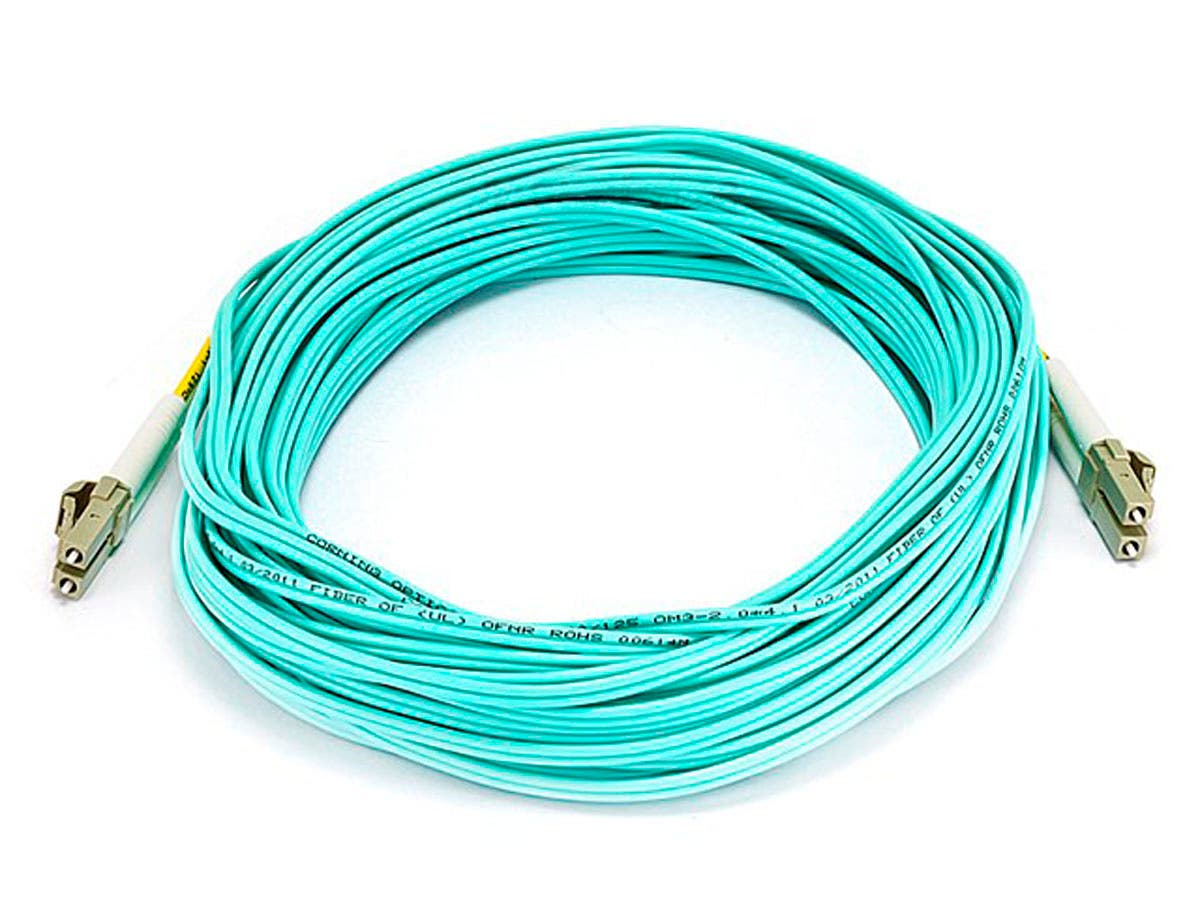 Monoprice Fiber Optic Cable Lc To Om3 50 125 Type Multi Mode Wiring