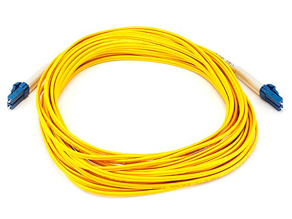 Monoprice Fiber Optic Cable - LC to LC, 9/125 Type, Single Mode ...