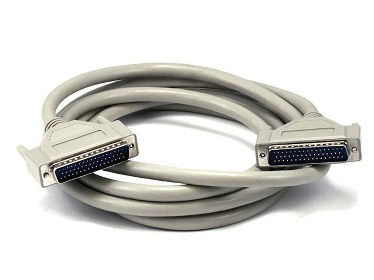 DB50, M/M SCSI Cable , 1:1, Molded -10ft