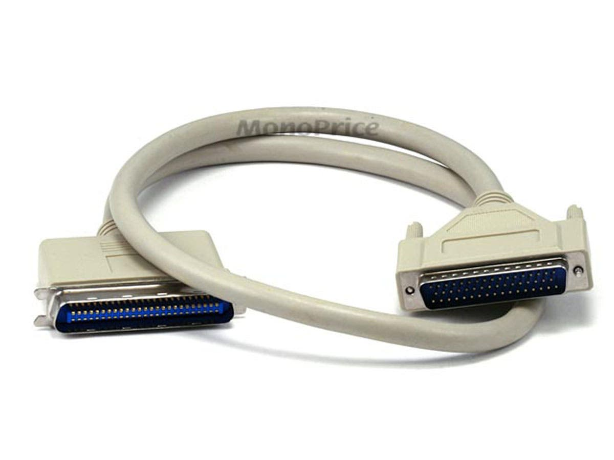 DB50 M/CN50 M SCSI Cable , 1:1, Molded - 3ft